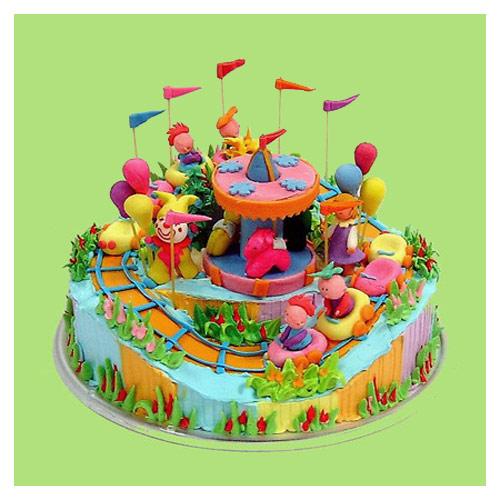 เค้กสวนสนุก